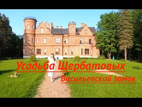 Васильевский замок. Усадьба Щербатовых. Подвесной мост.