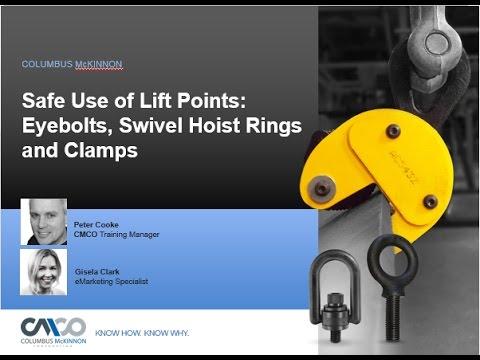 Safety Webinar: Safe Use Of Lift Points
