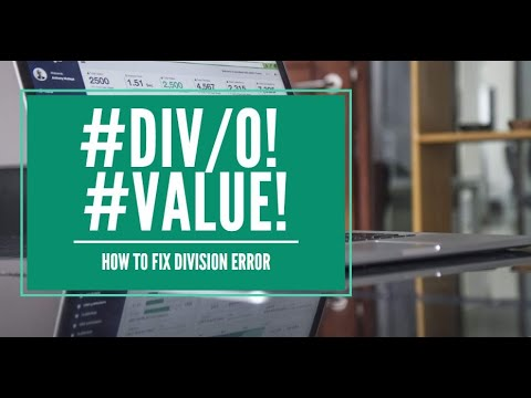 How to Fix Value Error in Excel - (Lesson 4)