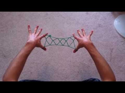 String Games With David - 4 Diamond Bridge (Jacob's Ladder) And Cat Whiskers