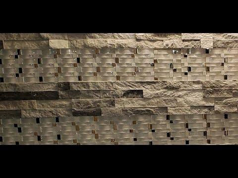 Cómo colocar ceramica en la pared de  baño de lujo