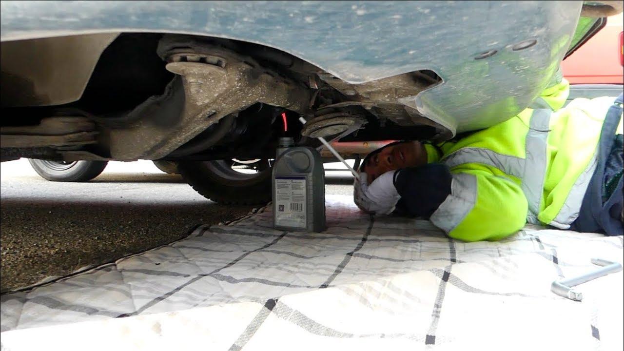 Opel astra h váltó olajcsere