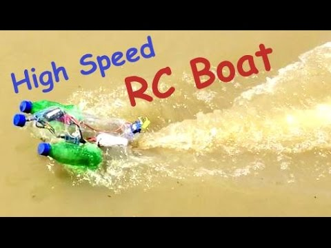 How To Make HIGH SPEED BOAT At Home