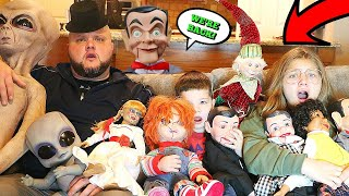ATTACK OF THE VILLAINS! Villains RETURN AND STEAL BABY NEW YEAR! Slappy, Slappys Family, Alien Baby