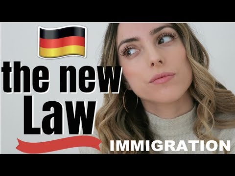 GERMANY'S NEW IMMIGRATION LAW | moving and working in Germany