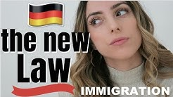 GERMANY'S NEW IMMIGRATION LAW   moving and working in Germany
