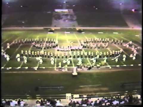 1987 Mountain View High School Spartan Marching Band   Mountain View, CA