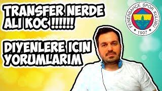Fenerbahçe'de Neden Transfer Yok / Ali Koç Ne Yapmak İstiyor ? Kendimce Yorumlarım