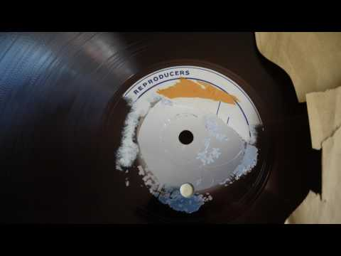 78 RPM - A. Francis:  Abide With Me / Alice Blue Gown (1950)  acetate lacquer disc