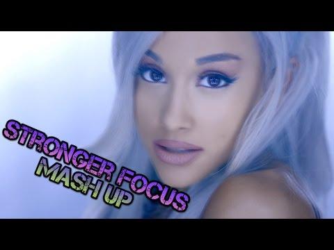 Ariana Grande & Britney Spears - Stronger Focus (DJ Linuxis Mash Up)