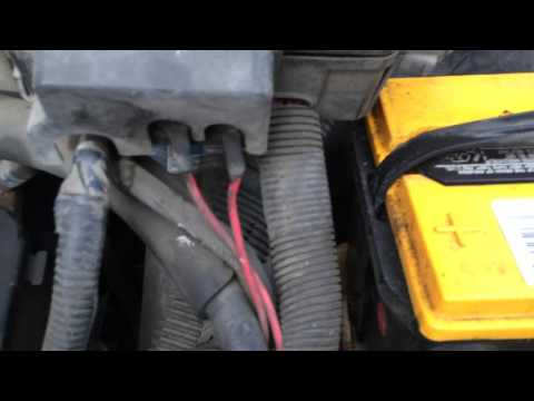 Chevy Astro Van Ground Fix, High-beam Headlights Kill Engine, Trailblazer