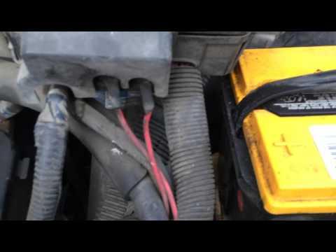 Chevy Astro Van Ground fix, high-beam headlights kill engine