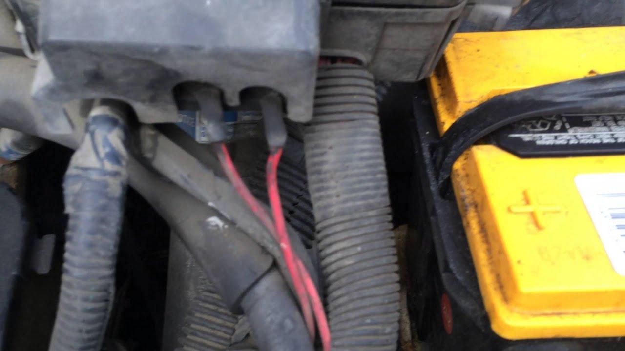 chevy astro van ground fix high beam headlights kill engine trailblazer [ 1280 x 720 Pixel ]