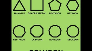 Polygon Song (Learn Polygons for Kids - Classic Video)