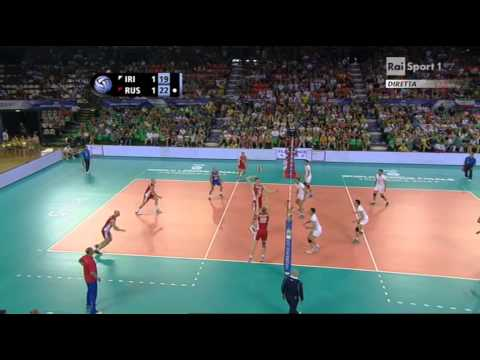 Volleyball Final Six Iran - Russia Firenze 2014