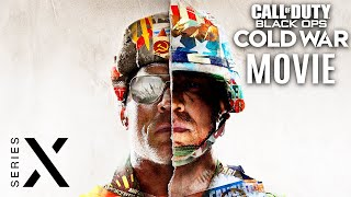 CALL OF DUTY: BLACK OPS COLD WAR All Cutscenes (Game Movie) XBOX SERIES X 1440p 60FPS Ultra HD