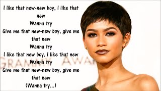 ZENDAYA FT CHRIS BROWN SOMETHING NEW LYRICS 2016