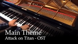 attack on titan   shingeki no kyojin ost piano