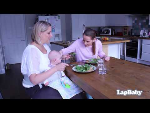 LapBaby - the hands-free seating aid.  Short intro