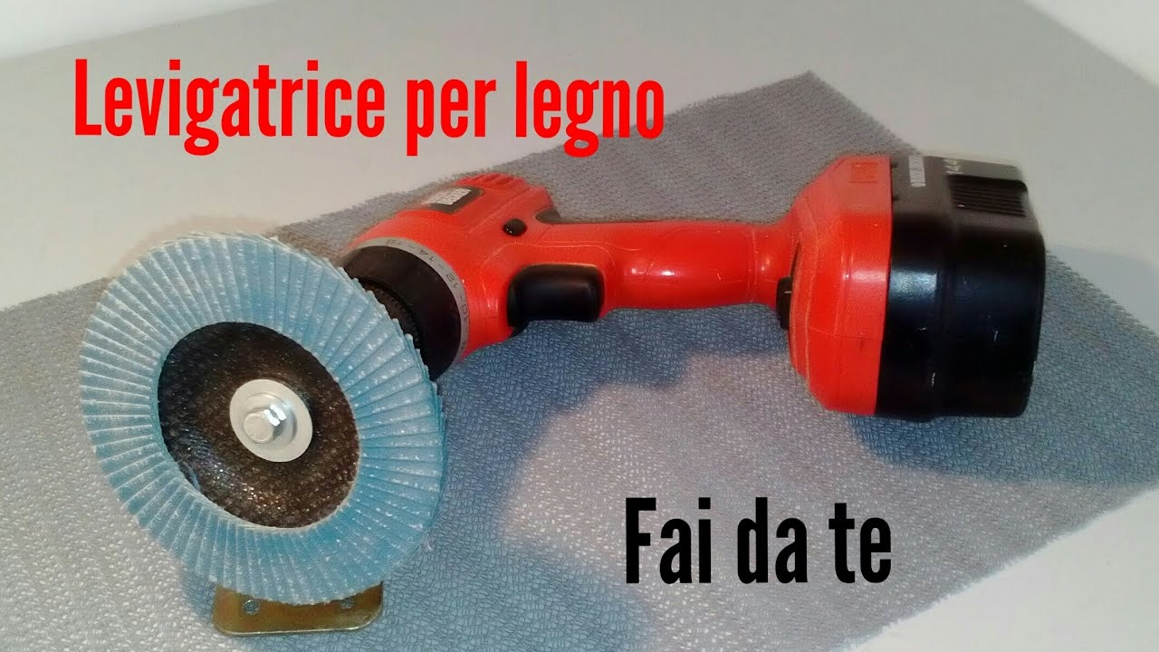 Come costruire una levigatrice per legno fai da te youtube for Panchine fai da te