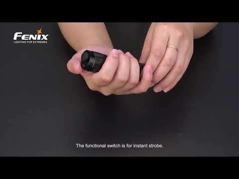 Senter Fenix TK16 V2 0 LED Flashlight