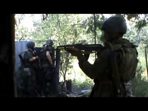 ВИДЕО. Танковые бои в Донецке