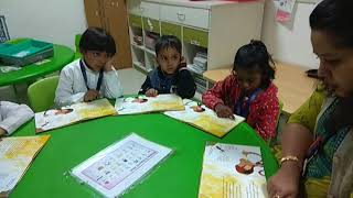 Reading Activity was organized for the Young learners of MRIS-51, Gurgaon