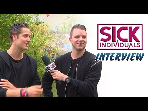 SICK INDIVIDUALS on remixing Madonna - Tomorrowland interview (FUN 1 TV)