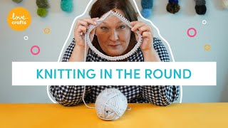 How to join knitting in the Round