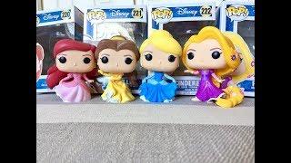 Funko Pop Disney Princess Elsa Cinderella Rapunzel Beautiful
