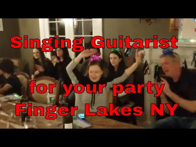 house party with singing guitarist ithaca, ny | live entertainment finger lakes