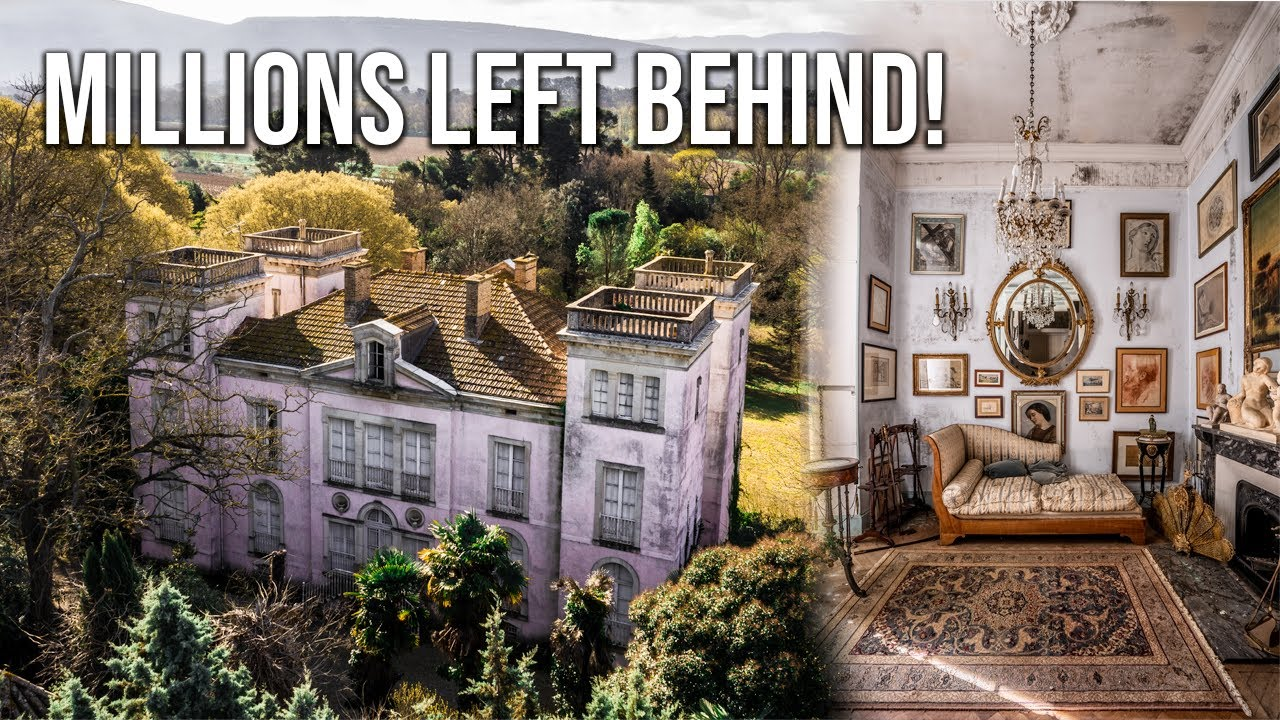 Download MILLIONS LEFT BEHIND   Dazzling abandoned CASTLE of a prominent French revolutionary politician