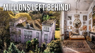 MILLIONS LEFT BEHIND  Dazzling abandoned CASTLE of a prominent French revolutionary politician