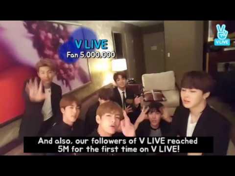 [V LIVE] BTS Billboard - EN