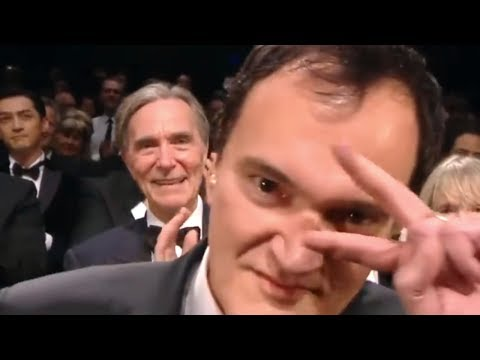 Quentin Tarantino's Cringe Standing Ovation at Cannes Film Festival 2019