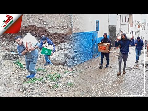 قيم التضامن تتواصل بتطوان.. متطوعون يوزعون مساعدات على الأسر المتضررة من الفيضانات