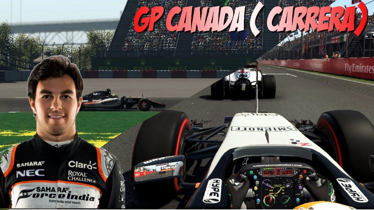 CARRERA GRAN PREMIO DE CANADA Mod F1 2016 | F1 2015 - YouTube