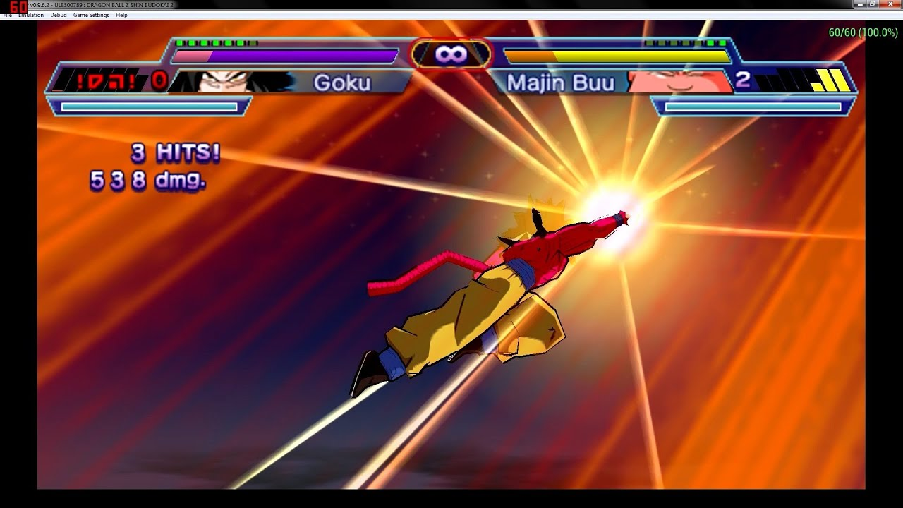 Dragon Ball Z Shin Budokai 2 - Arcade With Goku SS4 And Others ...