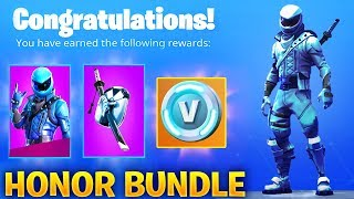 NEW FORTNITE HONOR GUARD SKIN BUNDLE! - EXCLUSIVE SKIN (Fortnite Battle Royale)