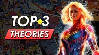 Top 3 Captain Marvel Theories | Avengers Cameo, Infinity War Tie In & More