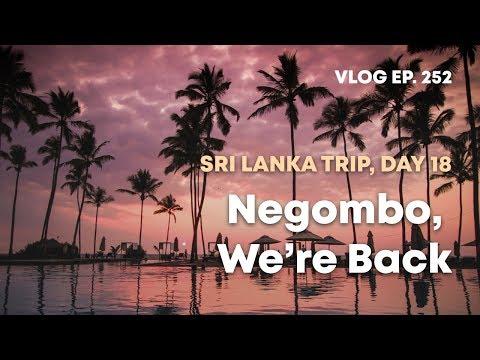 VLOG EP. 252 — Sri Lanka Trip, Day 18: Negombo, We're Back