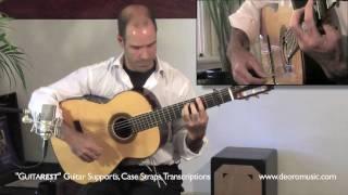 Taranta Falseta 1 - Flamenco Guitar Lesson - Diego de Oro