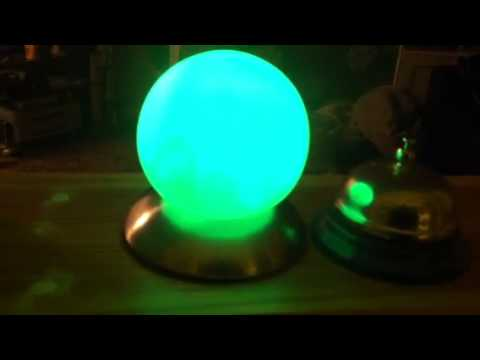 Wifi electric imp mood ball