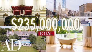 Inside 9 Luxurious New York Homes Worth a Combined $235M | On The Market | Architectural Digest