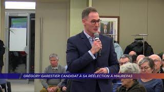 Yvelines | Grégory Garestier candidat à sa réélection à Maurepas