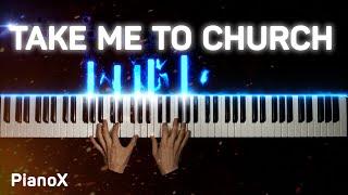 Hozier - Take Me To Church | Piano cover видео