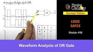 6. Physics | Logic Gates | Waveform Analysis of OR Gate | by Ashish Arora