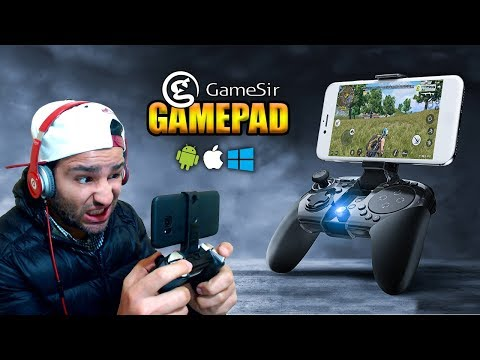 Android, iOS ve Windows için Oyun Kolu - GameSir G4s Gamepad