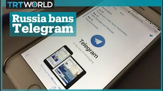 Russia bans encrypted messaging app Telegram