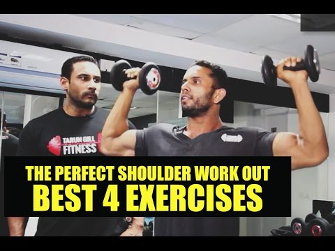 The perfect shoulder workout